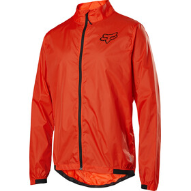 Fox Defend Chaqueta Cortavientos Hombre, orange crush